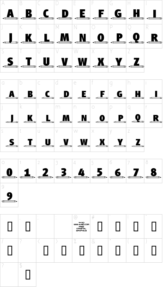 4YEOschool Schriftart Font Download Kostenlos