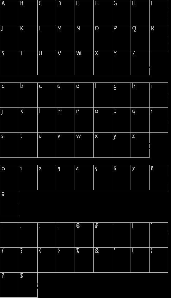 7 days rotated Schriftart Font Download Kostenlos