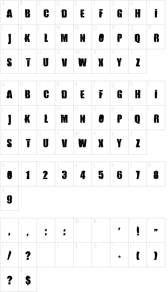84 Rock! Schriftart Font Download Kostenlos