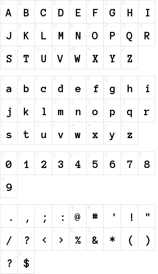 Anonymous Pro Schriftart Font Download Kostenlos