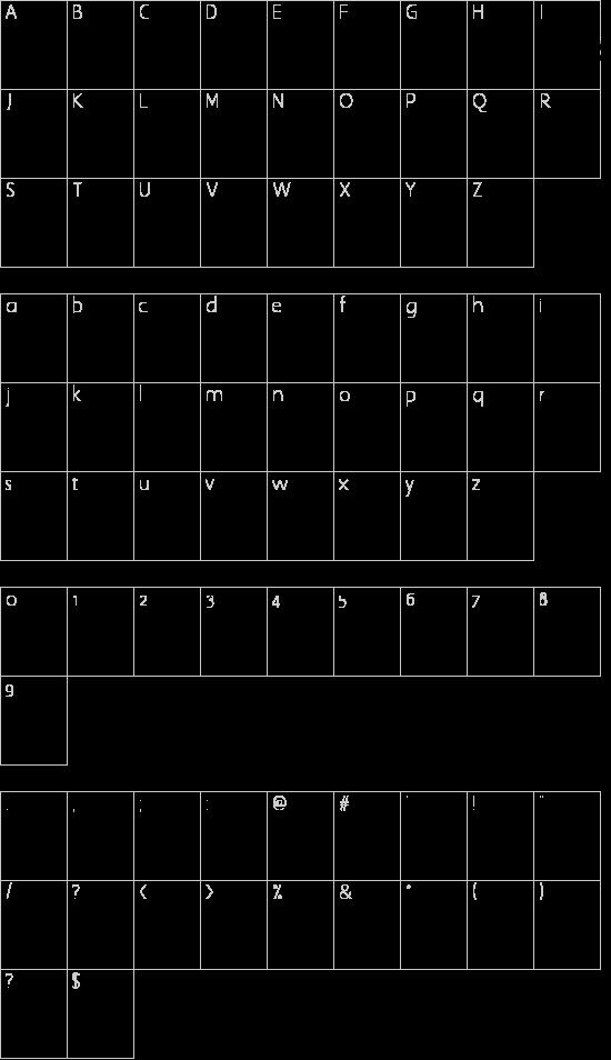 Asian Dings Schriftart Font Download Kostenlos