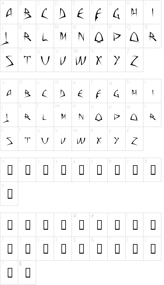 Baphometª Schriftart Font Download Kostenlos