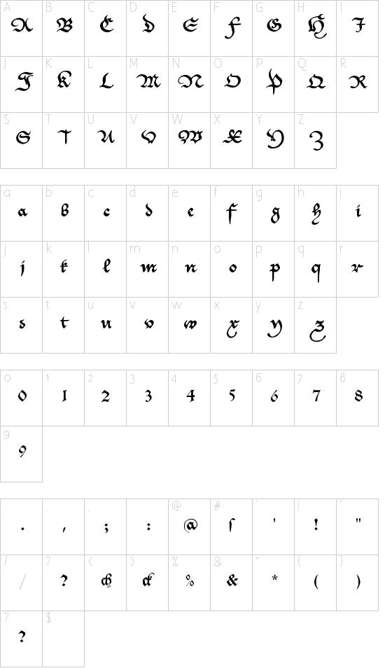 CantzleyAD1600 Schriftart Font Download Kostenlos