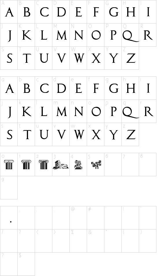 CapitalisTypOasis Schriftart Font Download Kostenlos