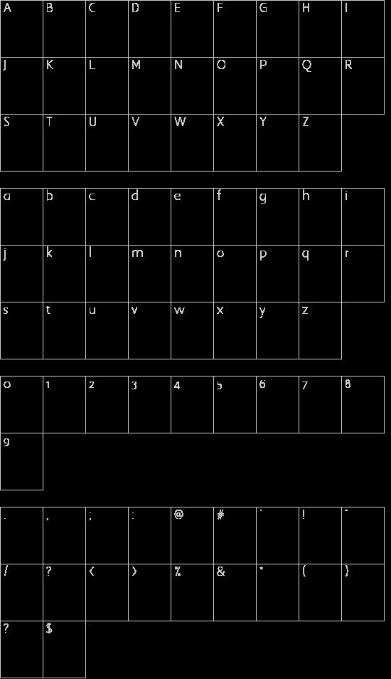 EZBorder Schriftart Font Download Kostenlos