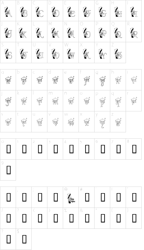 KGRAIN2 Schriftart Font Download Kostenlos