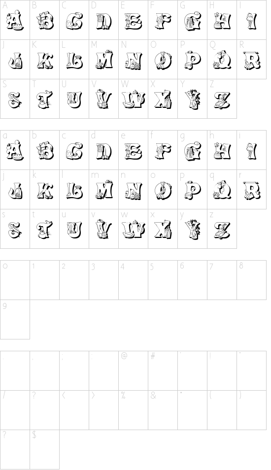 Kitchen Kapers II Schriftart Font Download Kostenlos