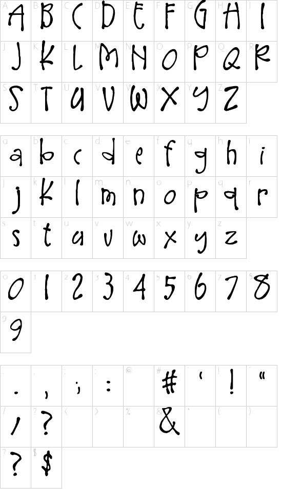 Larger Mime Schriftart Font Download Kostenlos