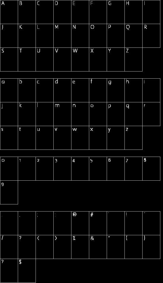 O1.0of Schriftart Font Download Kostenlos