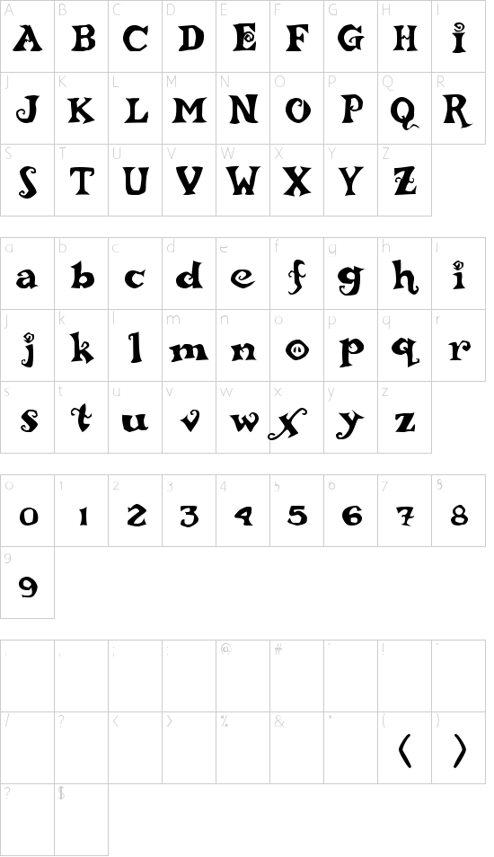 ReBucked Schriftart Font Download Kostenlos