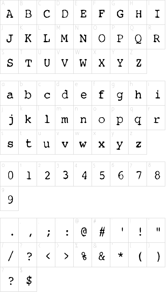 Remington Schriftart Font Download Kostenlos
