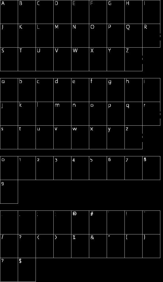 ThunderBay Schriftart Font Download Kostenlos