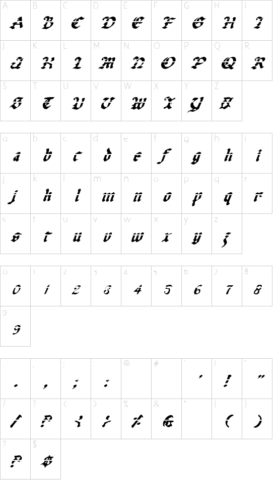 Uberhölme Lazar Italic Schriftart Font Download Kostenlos